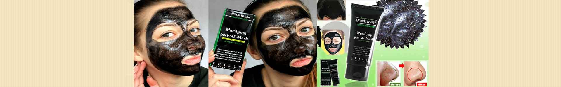 خرید بلک ماسک سیاه سودا لایه بردار پوست ماسک زغال 15000 تومان
